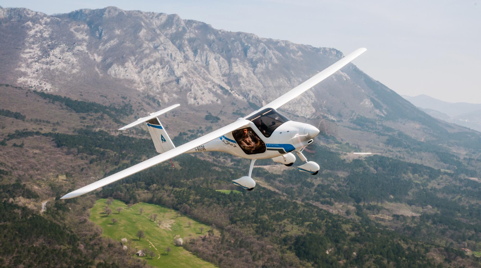 Nowy samolot wyposażony w silnik elektryczny