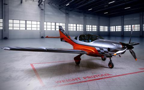 VL-3 z silnikiem 915iS - Lataj 380km/h (TAS @ FL180)