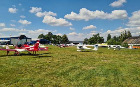 Spotkanie lotnicze na EPBA (07/08/2021)