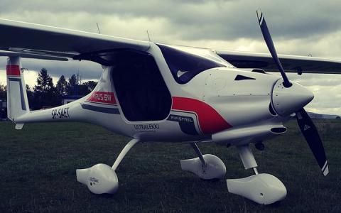 W Polsce  jest już pierwszy samolot...
