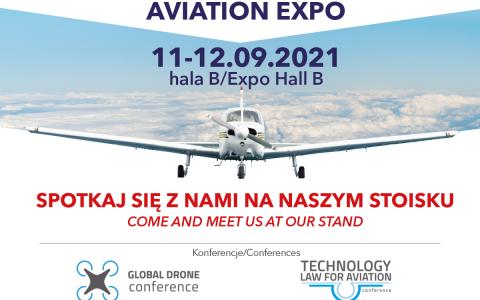 Odwiedź nas na AVIATION EXPO w Kielcach (11-12 września)