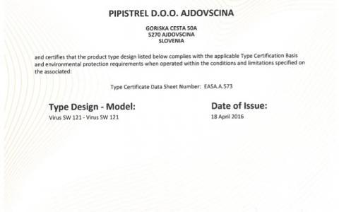 Virus SW z certyfikatem EASA CS-LSA