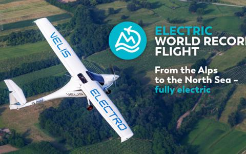 7 rekordów Guinessa dla samolotu Velis Electro