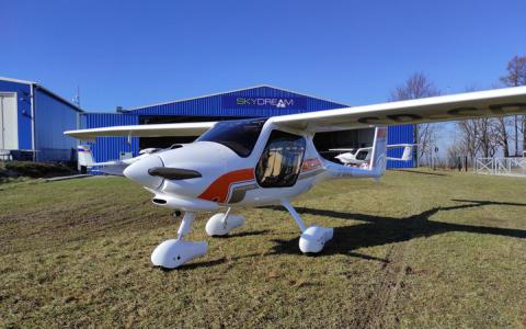 Drugi tegoroczny Pipistrel Aircraft...