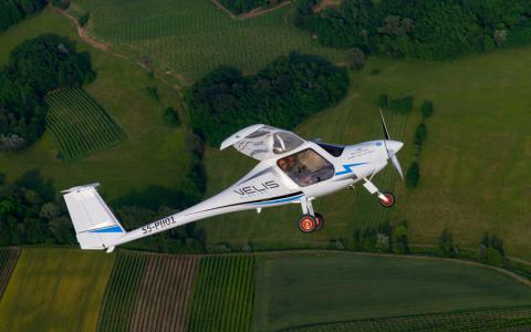 Pipistrel Velis Electro z nagrodą Plane of the Year