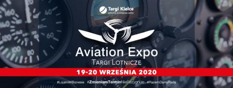 Widzimy się podczas Aviation EXPO w Kielcach (19-20.09.2020)