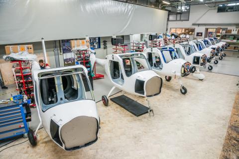 Samoloty elektryczne Alpha Electro produkowane seryjnie