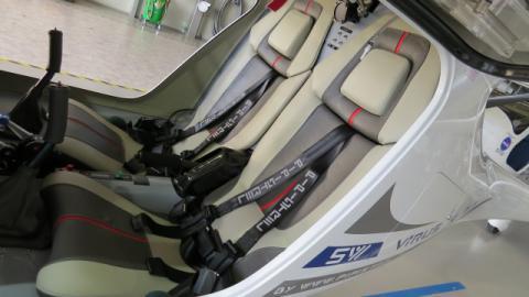 Siedzenia KOMFORT dla samolotów Pipistrel