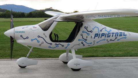 WATTsUP - nowy samolot elektryczny Pipistrel