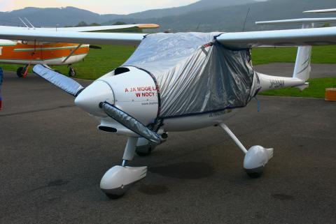 Pokrowiec na samoloty Pipistrel